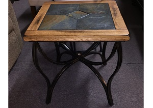 Sunny Design End Table w/ Tile Tip ,Specials
