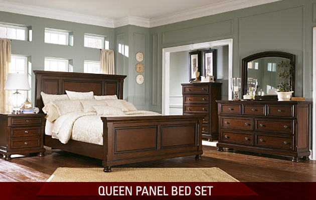 Queen Panel Bedroom