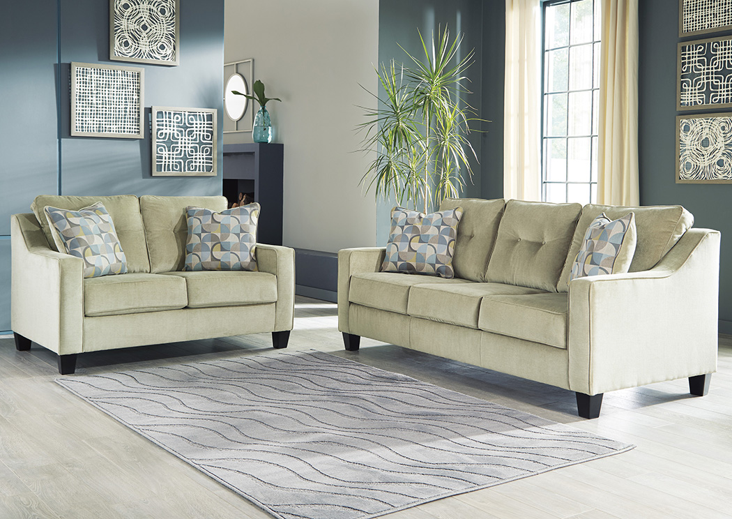 Bizzy Meadow Sofa & Loveseat,In-Store Product