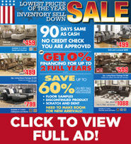 Inventory Sell Down Lowest Prices
