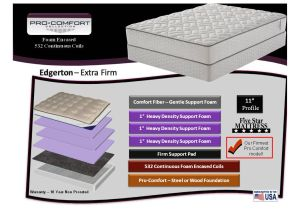 Edgerton Extra Firm King Mattress