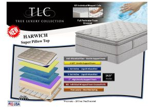 Harwich Super Pillow Top King Mattress