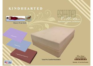 Kindhearted Foam King Mattress
