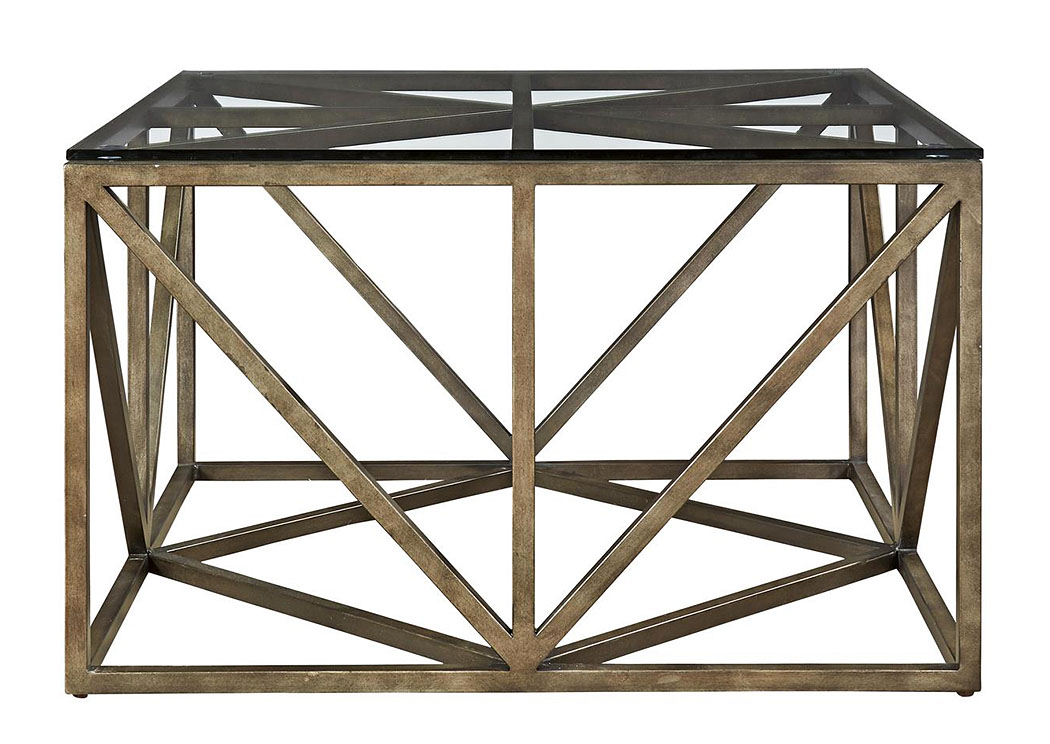 Authenticity Truss Square Cocktail Table,Universal