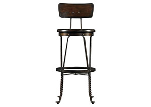 European Farmhouse Artisan's Apprentice Barstool