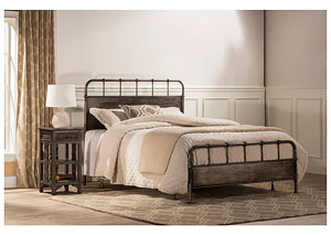 Grayson Bed Set- Queen- Rails not included