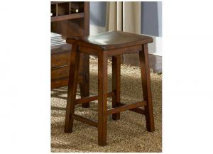 Cabin Fever Formal Dining Sawhorse Barstool