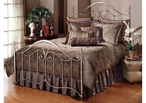 Doheny Bed Set- King- Rails not included
