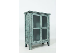 Rustic Shores 2 Door Accent Cabinet
