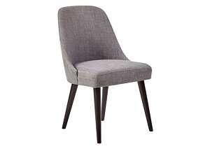 American Retrospective Uph Dining Chair 2/Ctn