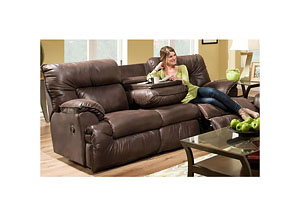Arizona Manual Reclining Sofa w/ Lumbar & Seat Massage