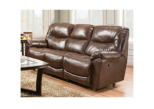 Calloway Leather Reclining Sofa