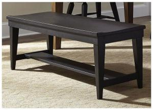 Hearthstone Formal Dining Bench- Black