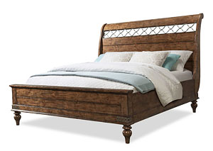 Southern Pines Queen Bed Complete