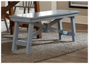 Creations II Dining Bench- Blue