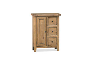 Tuscan Retreat Coffee Cabinet w/3 Drawers & 1 Door