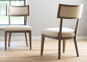Highline Greige Klismo Side Chair