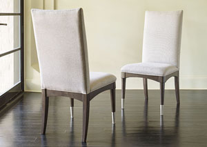 Soho Ash Upholstered Back Side Chair