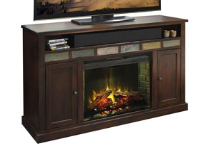 Fire Creek Fireplace Console 63