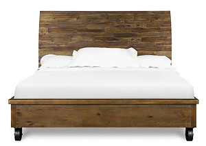 River Road Complete California King Island Bed w/Casters