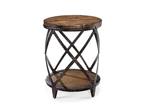 Pinebrooke Round Accent Table