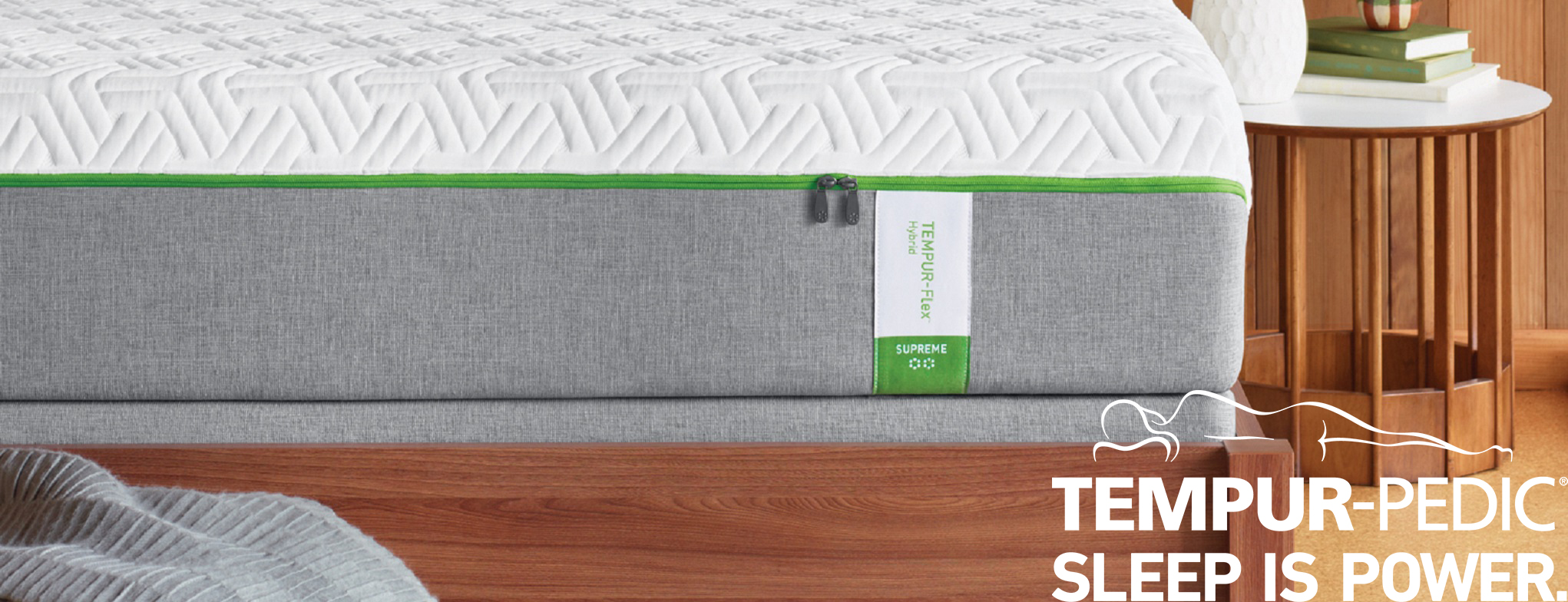 Tempur-Pedic Scroll Banner- Flex Supreme