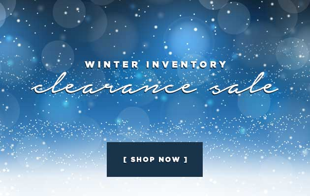 Winter Inventory Clearance Sale