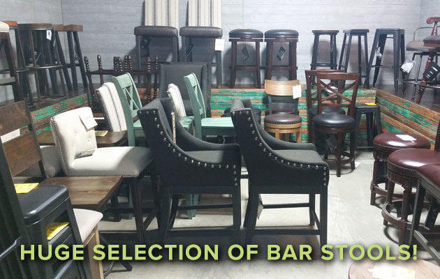 Huge Selection of Barstools!