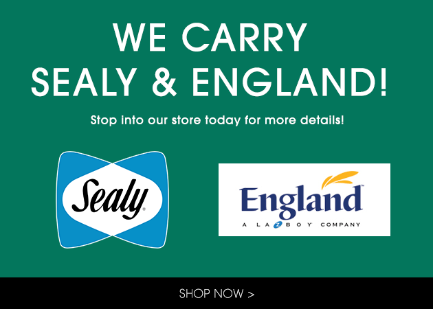 We Carry England and Sealy