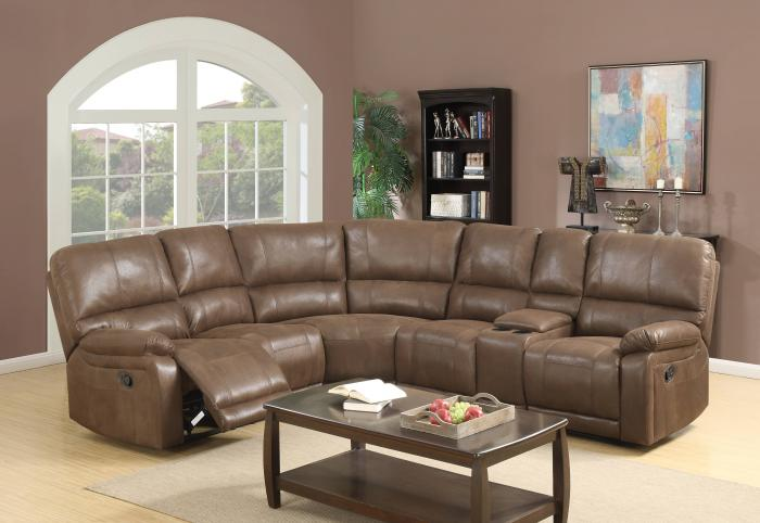Harlem Furniture Fairview Reclining Sectional