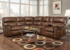 Wyoming Saddle Reclining Sectional