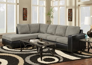 Sensations Grey 2 Piece Sectional