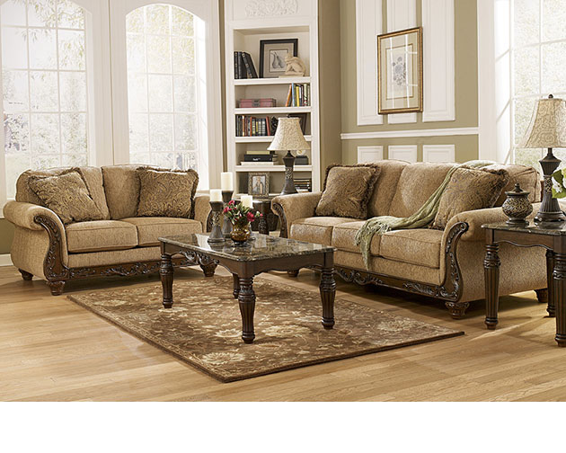 Cambridge Amber Sofa & Loveseat