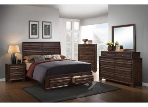 Hudson Queen Bed, Dresser, Mirror, & Nightstand