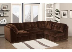 Modular 5 Piece Sectional,Lifestyle