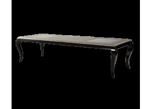 AICO After Eight Rectangular Dining Table In Titanium 19000 16