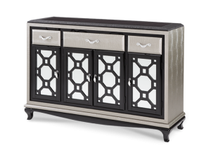 AICO After Eight Sideboard In Titanium 19007 16