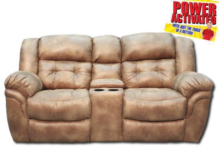 Oxford POWER reclining loveseat - almond,In-Store Products
