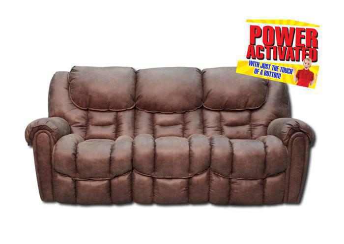Santa Monica Power Reclining Sofa,In-Store Products