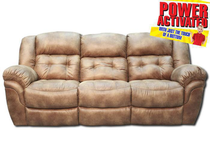 Oxford Power Reclinling Sofa - Almond,In-Store Products