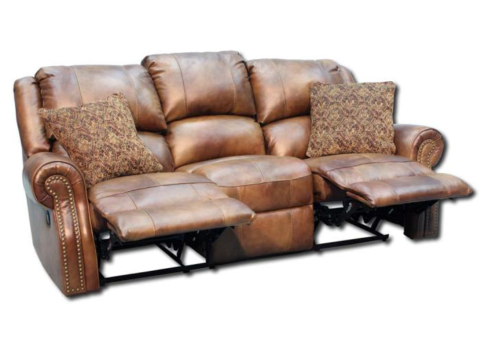 Walworth Reclining Sofa - Light Brown,In-Store Products