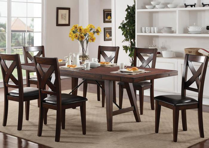 Sierra 7 Pc Dining Room,In-Store Products