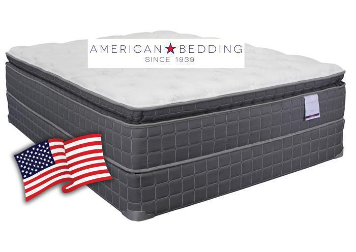 American Bedding Liberty Pillow Top Mattress Set Queen