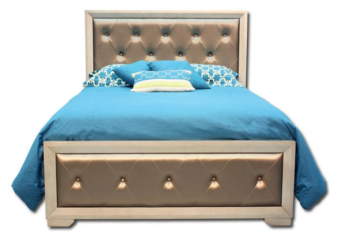 Fontaine Queen Bed,In-Store Products