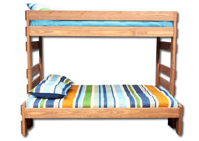 Duncan Twin/ Full Bunk bed - Light,In-Store Products
