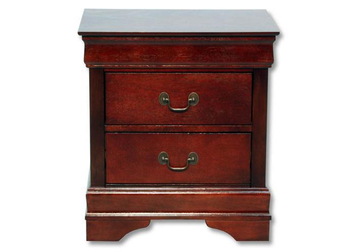 Louis Philip Nightstand - Cherry,In-Store Products