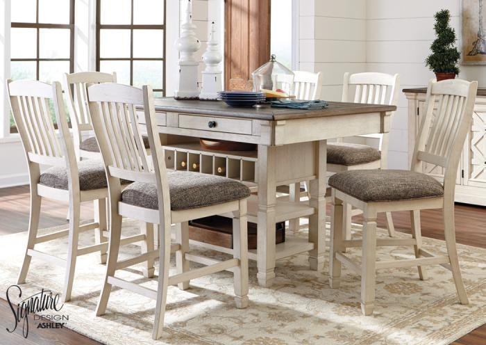 Bolangburg 7 pc pub dining room,In-Store Products