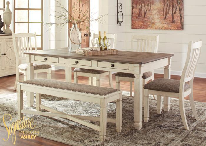 Bolanburg 6 pc dining room,In-Store Products