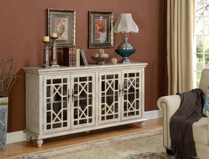 Leyton accent credenza - white,In-Store Products