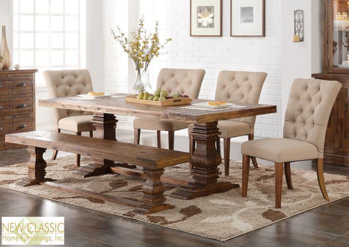 Normandy 6 pc dining room,In-Store Products